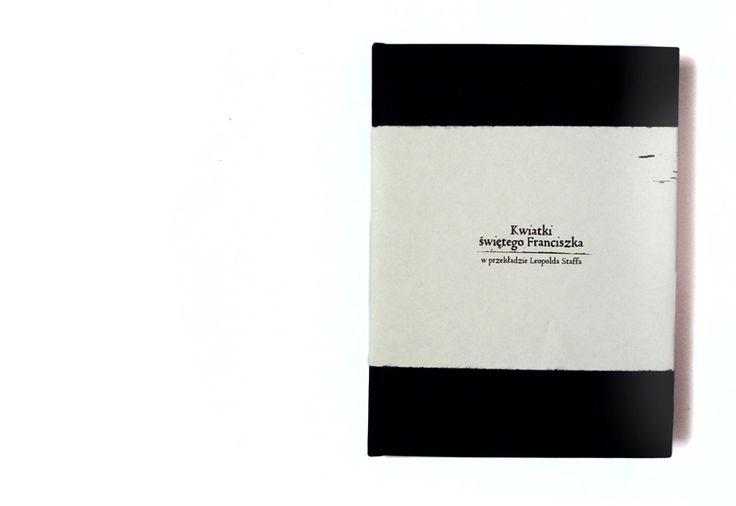 Kwiatki świętego Franciszka - wydanie bibliofilskie. Przód książki.