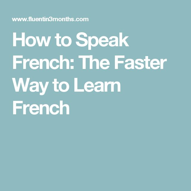 learn french fast fun way pdf