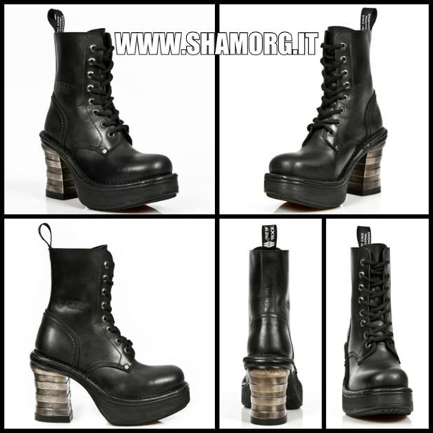 NEW ROCK modello 8354-S1! #shamorg #rockboots #gothgoth #gothboots #gothfashion #gothicstyle #newrock_official