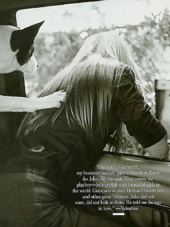 14 Best Images About Carolyn Bessette Kennedy Vanity Fair On Pinterest