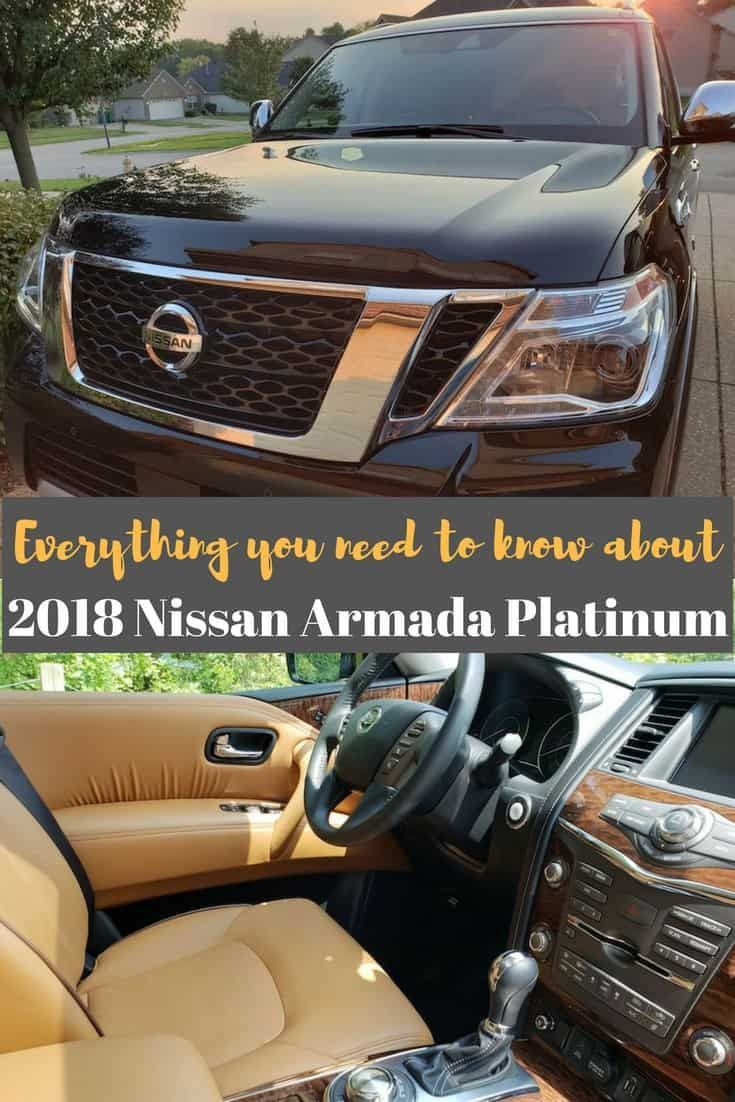 Conquer The Road With The Nissan Armada Platinum Nissan Car