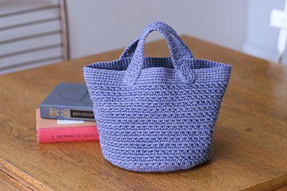 シンプル丸底バッグの作り方|編み物|編み物・手芸・ソーイング|アトリエ|手芸レシピ16,000件!みんなで作る手芸やハンドメイド作品、雑貨の作り方ポータル