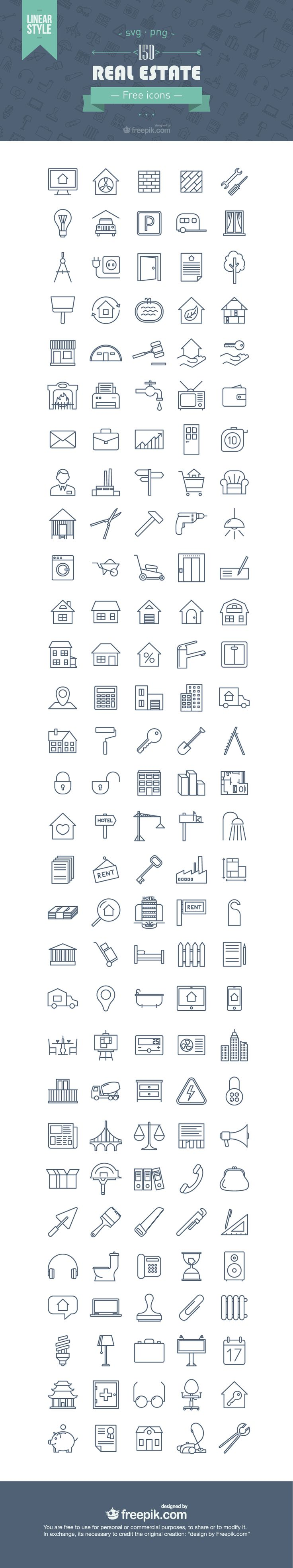 best ideas about real estate flyers real estate cld exclusive 150 gorgeous real estate line icons png svg
