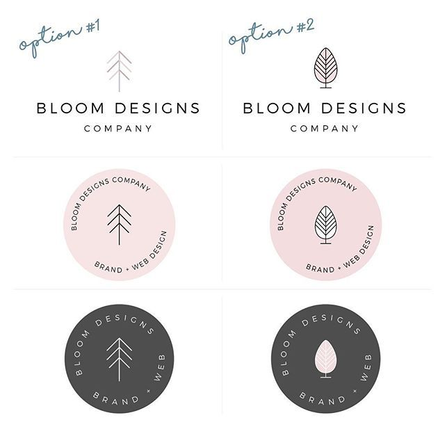 Some of our old logos. Logo inspiration can come from anywhere. In some cases, modern logos are the best way to go; other times one can go for a vintage logo look. View our Instagram to find more logo inspiration! @bloomdesignsco (scheduled via http://www.tailwindapp.com?utm_source=pinterest&utm_medium=twpin)
