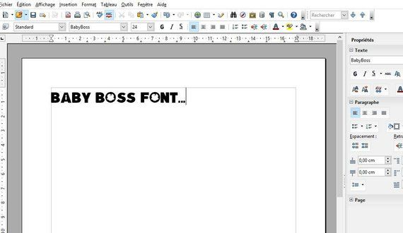 Boss Baby font real ttf to install compatible PC and Mac | Etsy