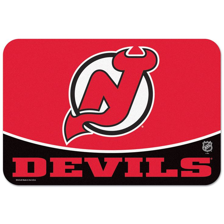 "New Jersey Devils 20""x30"" Welcome Mat - Enthoozies"