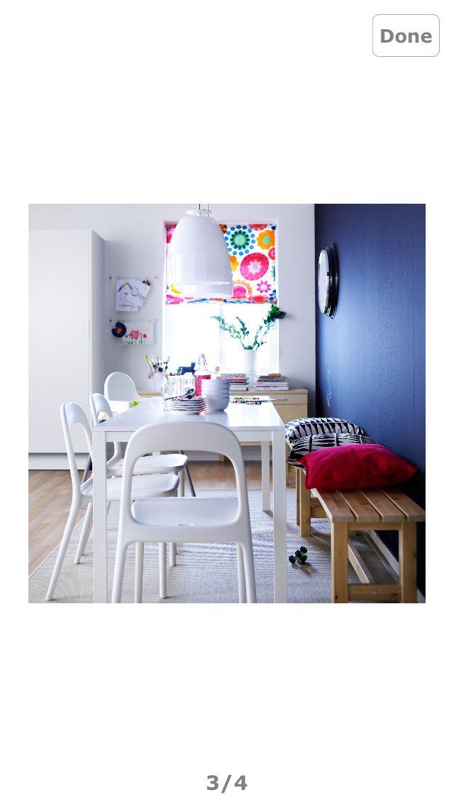 IKEA dining set up
