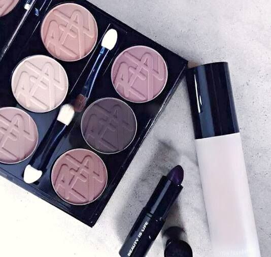 #Beauty #is #life #with #contouring #and #eye #shadows #palette #black #diamond #lipstick #and #make #up #Beauty #is #life