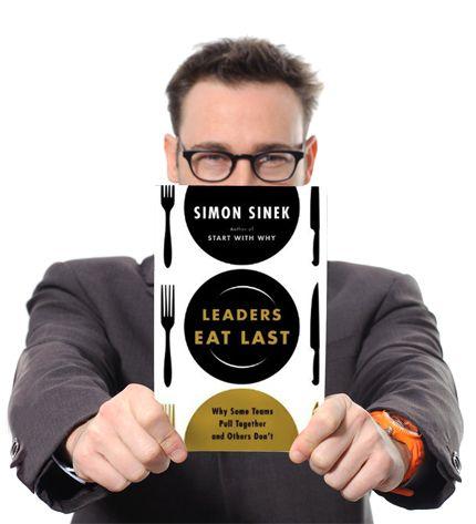 "Win FREE Giveaway of Simon Sinek's NEW Book ""Leaders Eat Last"""