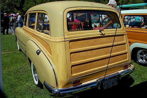 Chevy Tin Woodie