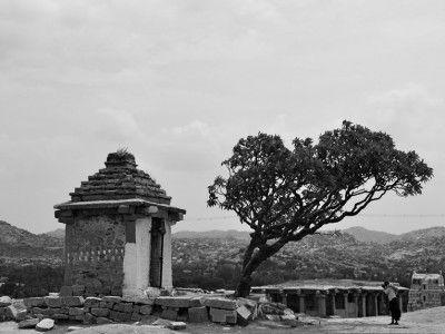A stray temple, Hampi, Karnataka, India #India #Kamalan #travel #culture #photo
