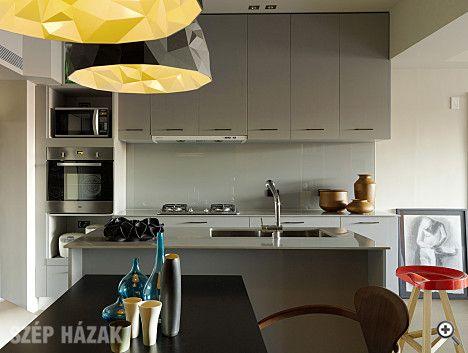 Minimál és indusztriális stílus egy lakásban - Szép Házak Online