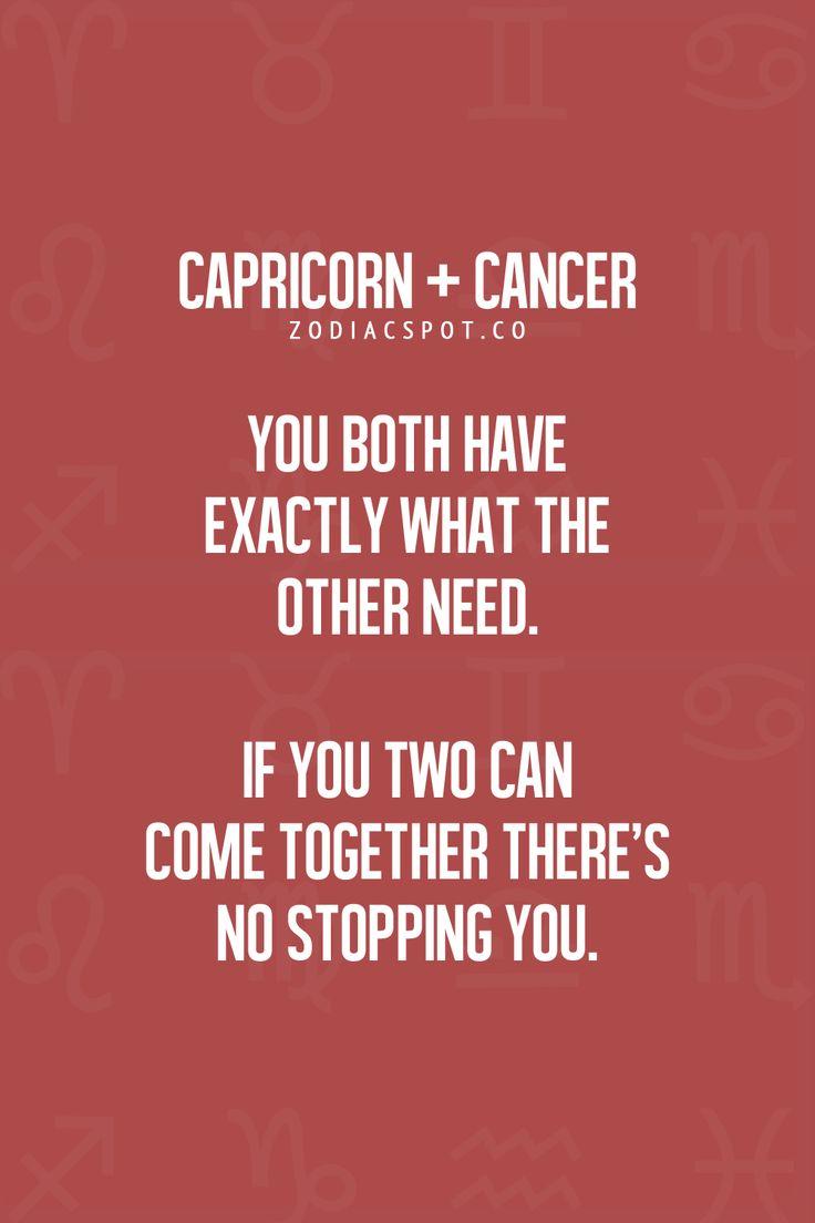 Compatibility of Capricorn & Cancer Zodiac Sign ♋