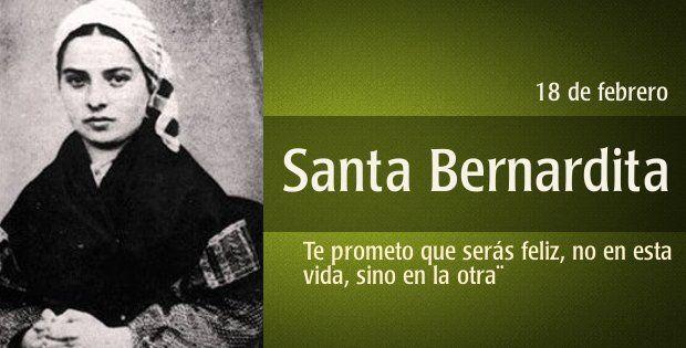 Santa Bernardita | Proyecto Emaús