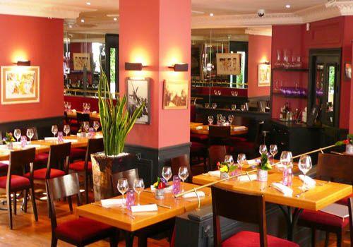Le Moulin de la Galette Restaurant in Paris.