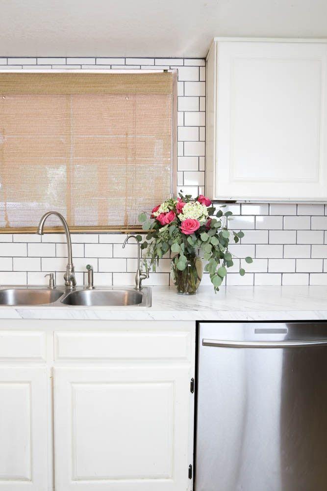 Die besten 25+ Laminat arbeitsplatten Ideen auf Pinterest - Arbeitsplatte Küche Edelstahl