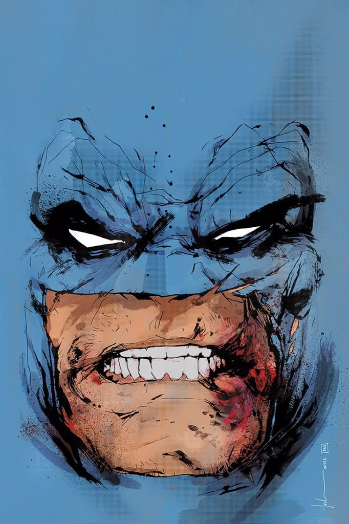 Dark Knight III variant cover by Jock