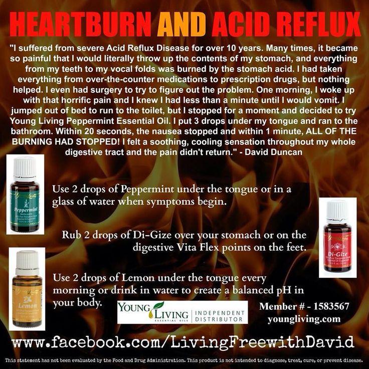 Cure heartburn