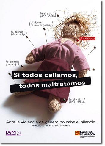 Campau00f1a contra la violencia de género del Gobierno de Aragón