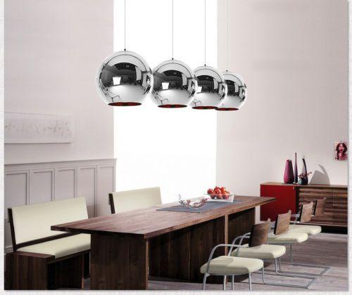 Glass-Mirror-Ball-Ceiling-Pendant-Light-Modern-Tom-Dixon-Lamp-Chandelier-7-Sizes