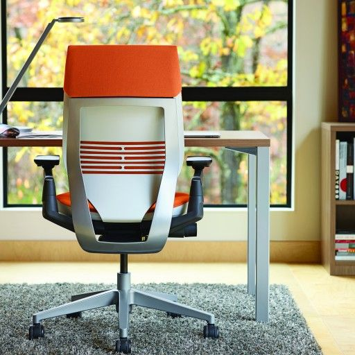 The Gesture Steelcase chair. Make your back happy.