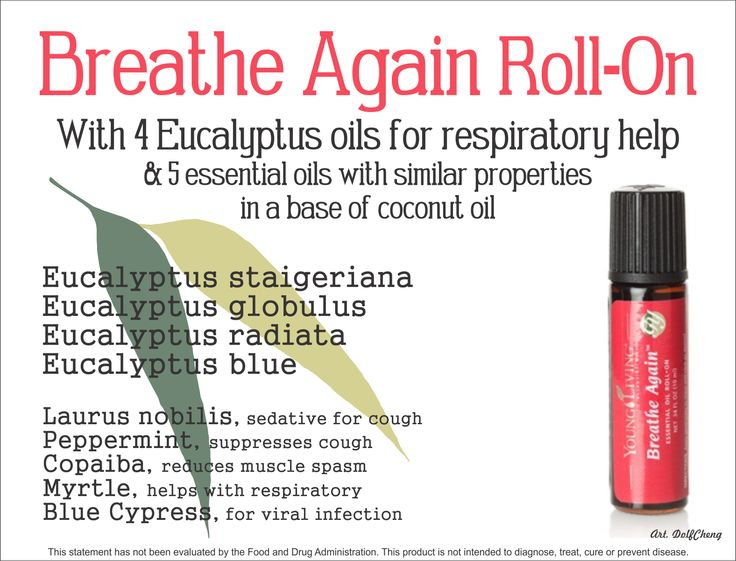 Breathe Again Roll On Young Living Roll Ons Pinterest