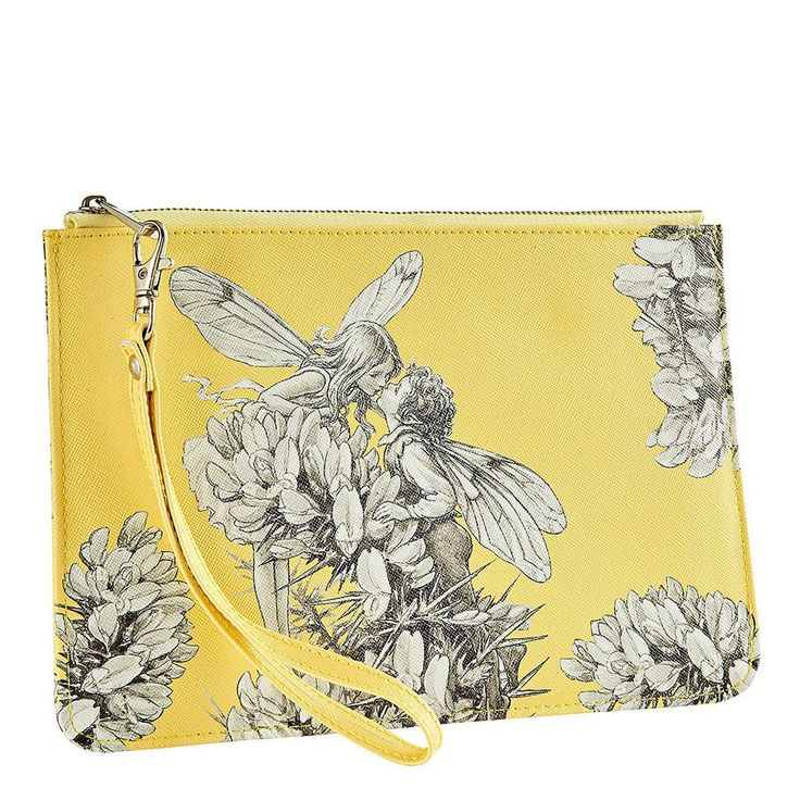 A28547 Gorse Clutch Bag