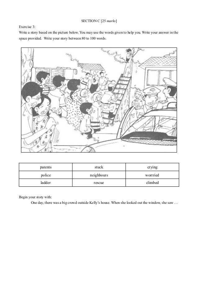 Upsr English Paper 2 Section C In 2020 English Paper Rescue Workers Going Home