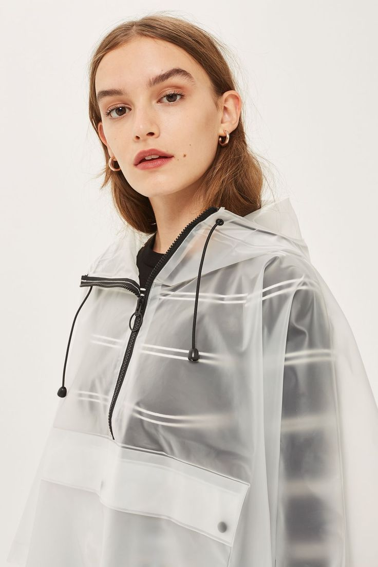 Clear Poncho Raincoat