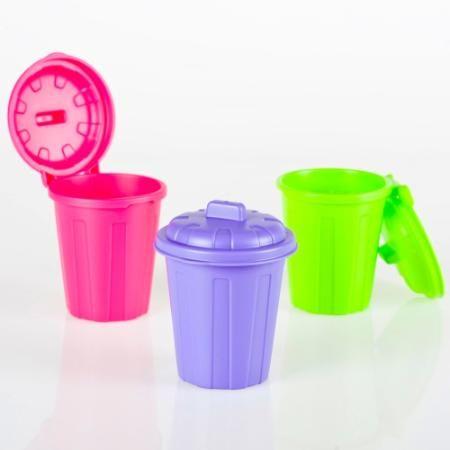 Mini Cesto Lapicero Plastico Colores C/ Tapa Regalos Morph $ 79.9 - Morph