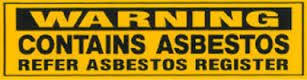 #Register your #asbestos as soon as possible for inspection. Call Chomp Professionals at (02) 9579 5186