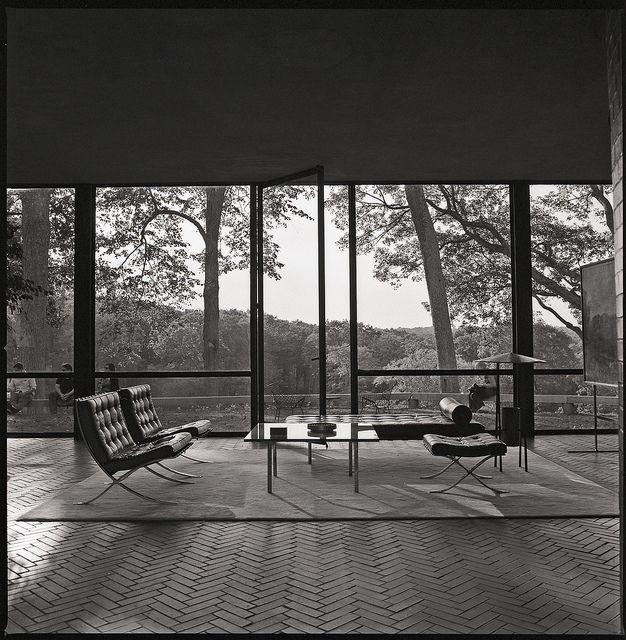 Philip Johnson Residence by jon_buono, via Flickr