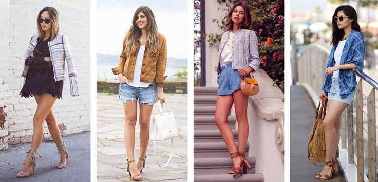Shorts vaqueros, ¿con tacones o calzado plano? - http://www.mujercosmopolita.com/shorts-vaqueros-con-tacones-o-calzado-plano.html
