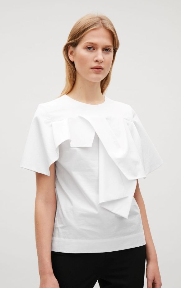 Under $100: COS Top with Draped Sleeves