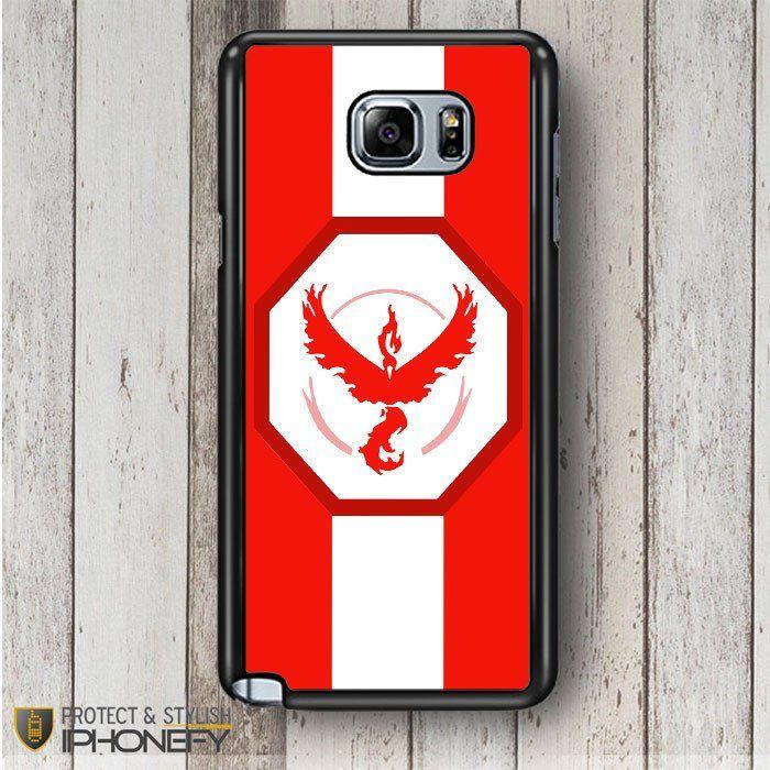 Pokemon Go Team Valor Stripe Samsung Galaxy Note 4|5 Case|iPhonefy