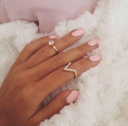 Light Pink Nails Acrylic Almond