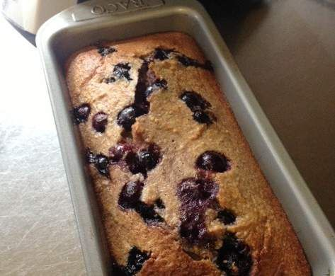 Recipe Banana Blueberry Bread (Gluten/Lactose/refined Sugar Free) by Danielle Scott - Recipe of category Breads & rolls