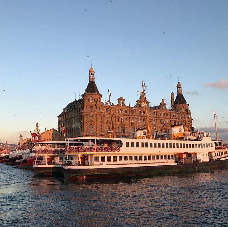 HAYDARPASA TRAIN STATION KADIKOY ISTANBUL TURKEY