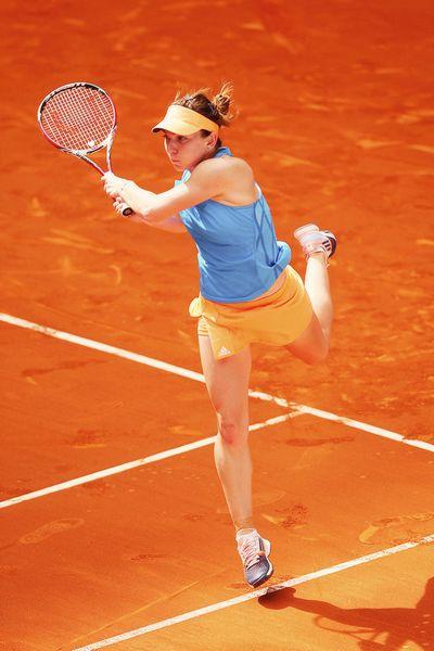Halep @JugamosTenis #tennis #ATP #Madrid #CajaMagica