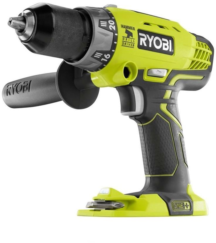 Ryobi ONE+ 18-Volt Lithium-Ion Hammer Drill and Impact Driver Power Tool Kit #Ryobi