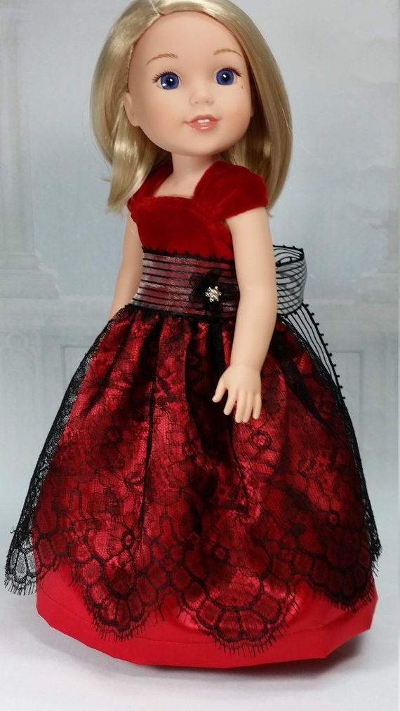 RESERVED FOR asugirl87, Wellie Wisher Holiday Ball Gown