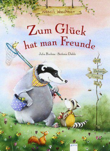 Zum Glück hat man Freunde (Wassili Waschbär) von Julia Boehme http://www.amazon.de/dp/3401094939/ref=cm_sw_r_pi_dp_GUnswb16QJ5XW