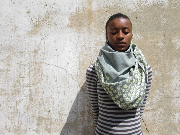 Chalk Beans scarf | A Life Aquatic 1.1 | Choolips, Golden Coast collection AW11