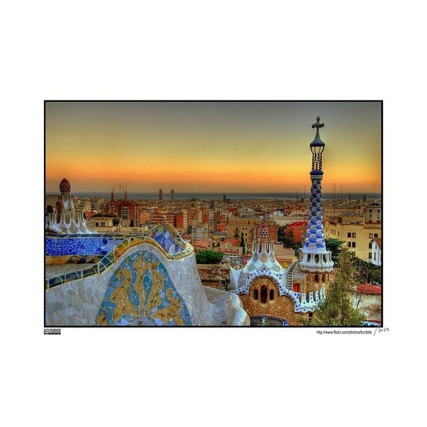 Favorite Places & Spaces / barcelona found on Polyvore