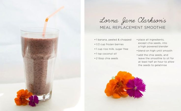 Lorna's Fave Meal Replacement Smoothie - Move Nourish Believe