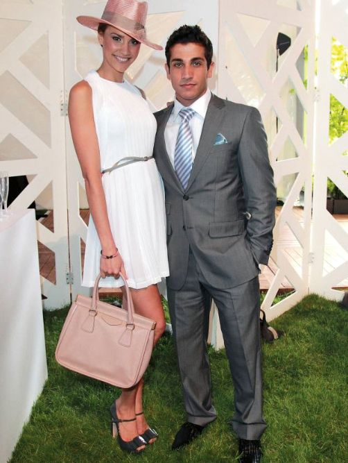 Firass Dirani in Farage at the Randwick Spring Races 2011