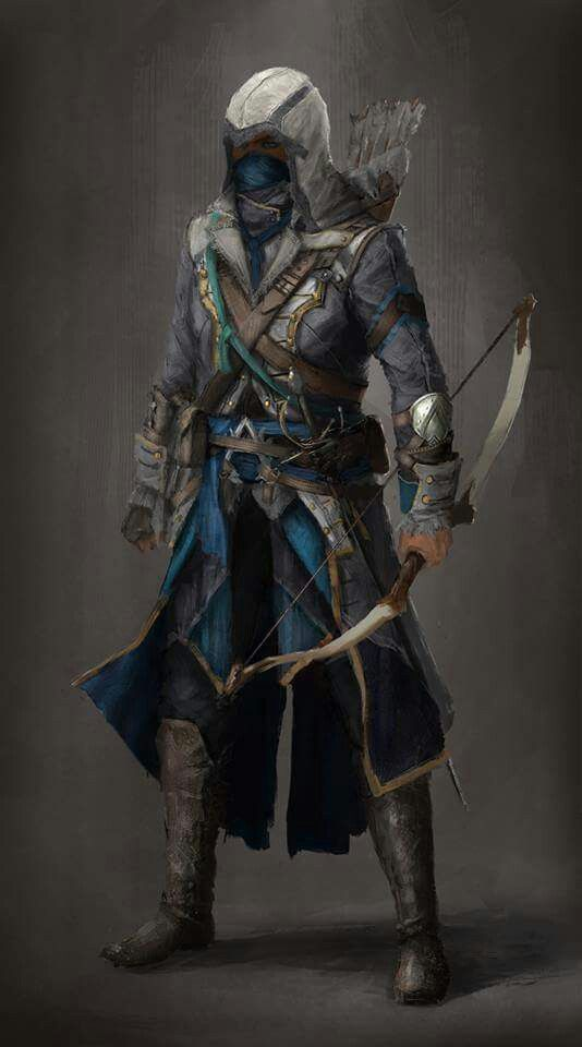 Very cool concept art. #assassin'screed