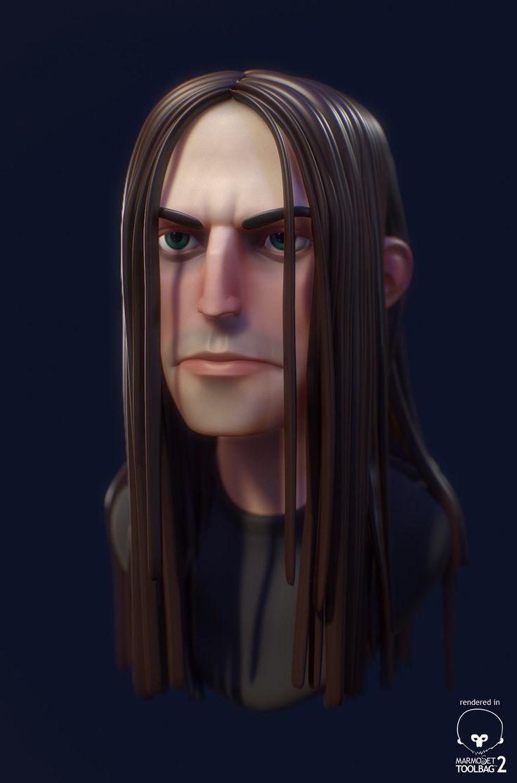 Metal, Xavier Coelho-Kostolny on ArtStation at https://www.artstation.com/artwork/metal-cb059863-bb03-4fab-9e7c-be7882a77d75