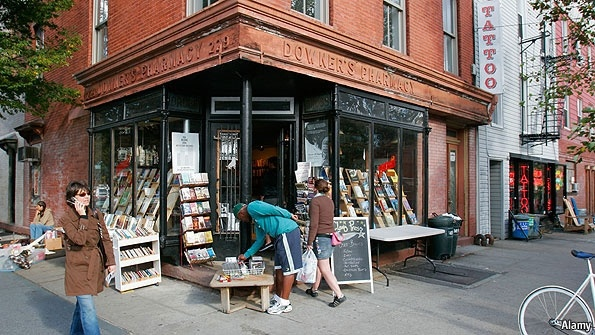 Living in Brooklyn: A vertically integrated factory for literature | The Economist