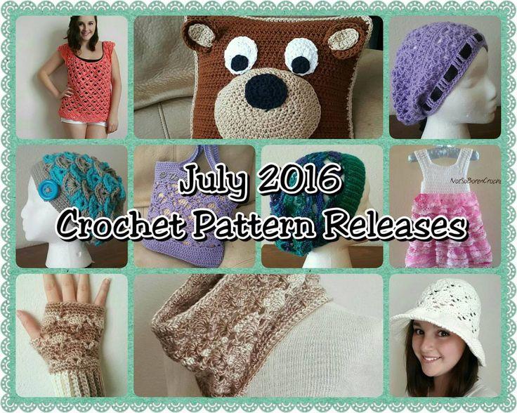 July 2016 Crochet Pattern Releases
